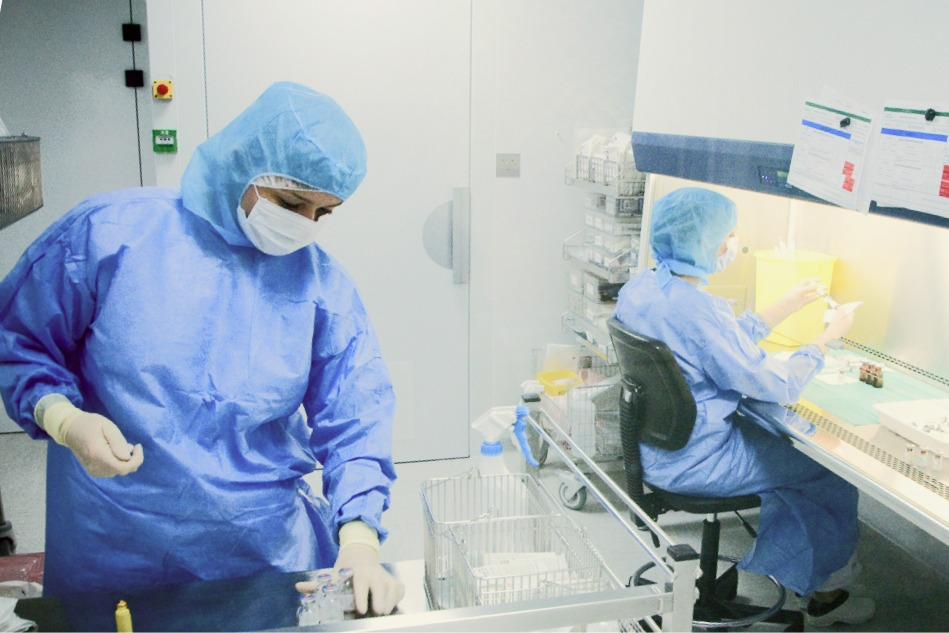 Pharmacienne au CFPPH du CHU de Lille